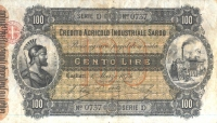 Credito_Agricolo_Industriale_Sardo_100_lire