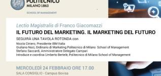 Lectio Magistralis Franco Giacomazzi 24 Febbraio