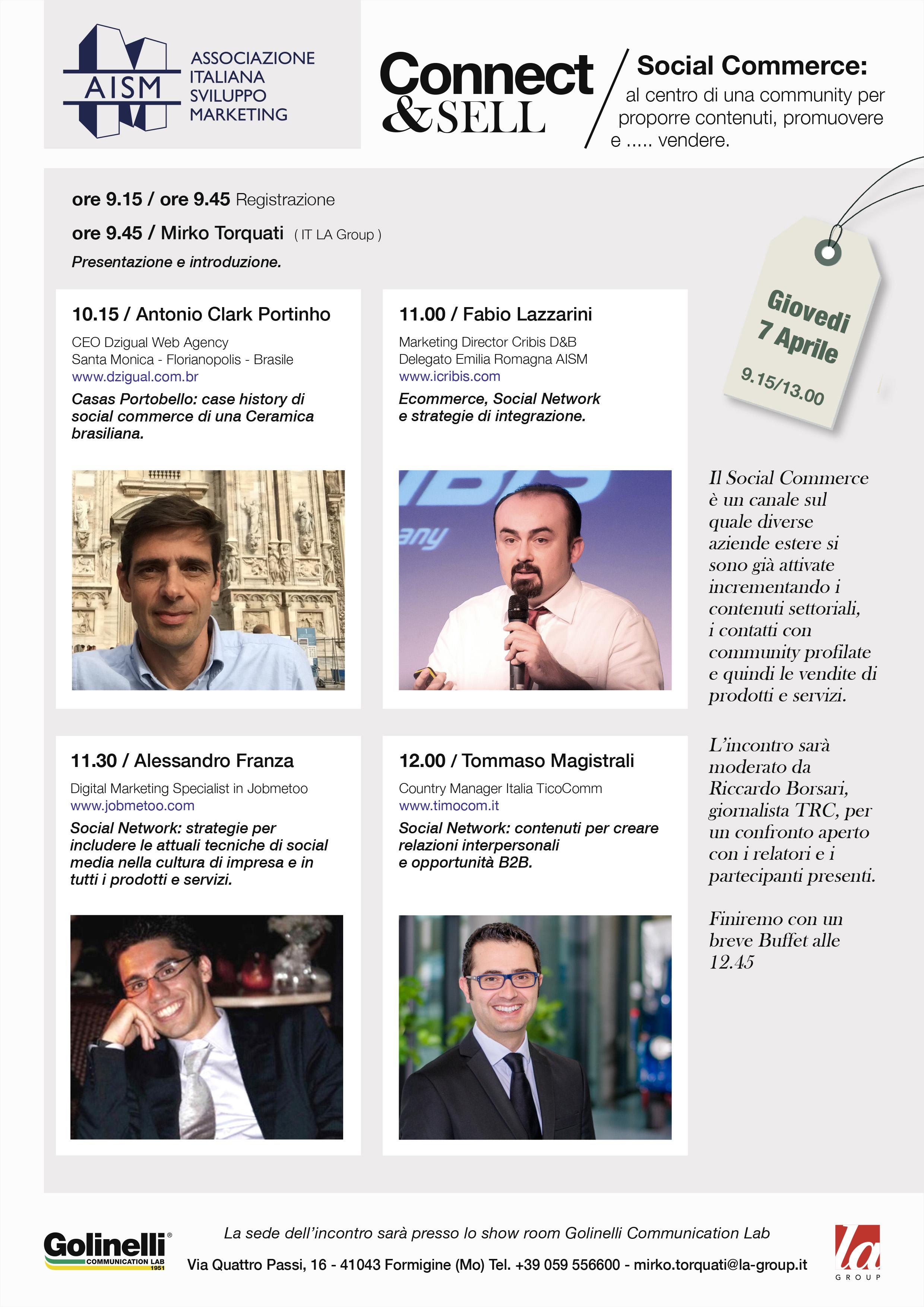 social commerce locandina