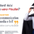 "Master Università di Parma ""Web communication social media e IoT"" ed. 2018/2019"