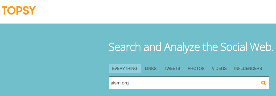 Twitter Search Monitoring Analytics Topsy.